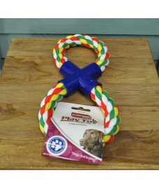 Figure 8 Tug Rope Dog Toy by Kingfisher