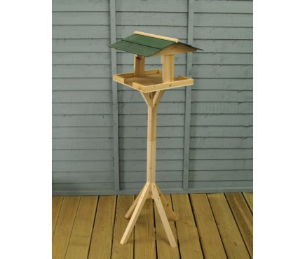 Wooden Self Assembly Bird Table by Kingfisher