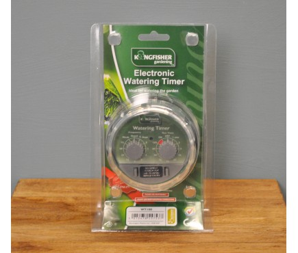 Automatic Electronic Watering Timer by Kingfisher