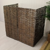 Willow Wheelie Bin Screen (Double)