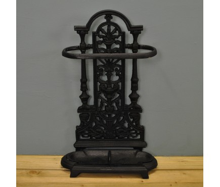 Cast Iron Vintage Antique Style Ornate Umbrella Brolly and Walking Stick Stand