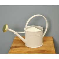 Watering Can in Chalk White (1.5 Litre) by Garden Trading