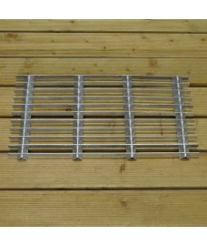 Galvanised Metal Grill Doormat - Small by Garden Trading