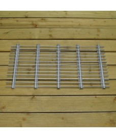 Galvanised Metal Grill Doormat - Large by Garden Trading