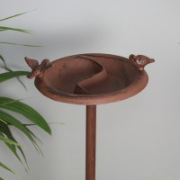 Cast Iron Bird Bath & Table Feeder by Fallen Fruits