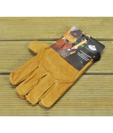 Pig Grain Leather Gardening Gloves by Fallen Fruits