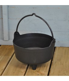 Plastic Cauldron Shaped Planter by Garland