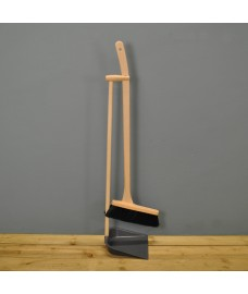 Long Handle Dustpan and Brush by Garden Trading