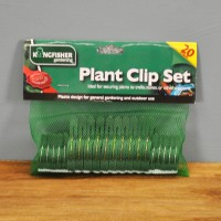 Assorted Plant Clip Set (Pack of 20) by Kingfisher