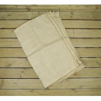 Pack of 5 Large Hessian Jute Potato Storage Sacks