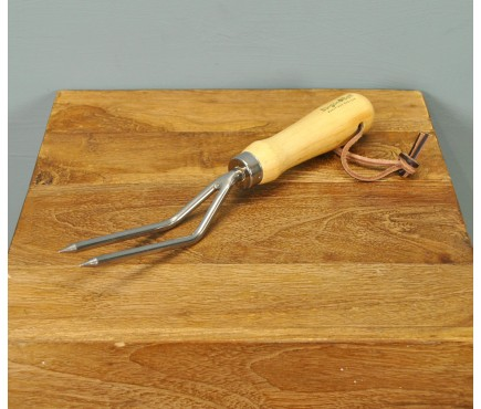Stainless Steel Weeding Fork by Burgon and Ball