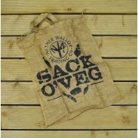Sack Of Veg Natural Jute Bag for Root crops by Nether Wallop Trading