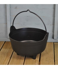 Large Plastic Cauldron Shaped Planter by Garland