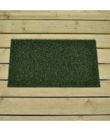 Astro Turf Non-slip Backed Doormat (40cm x 70cm) by Gardman