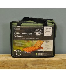 Sun Lounger Cover (Premium) in Green by Gardman