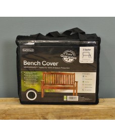 3 Seater 1.5m Bench Cover (Premium) in Black by Gardman