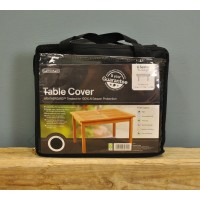 6 Seater Rectangular Table Cover (Premium) in Black by Gardman