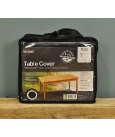 8 Seater Rectangular Table Cover (Premium) in Black by Gardman