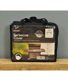 Large Barbecue Cover (Premium) in Black by Gardman