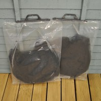 Pack of 2 Black Net Grow Tunnel Cloche (3m)