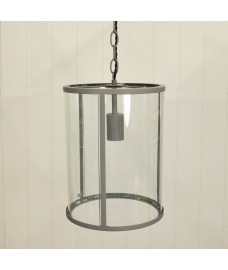 Cadogan Pendant Light in Charcoal by Garden Trading
