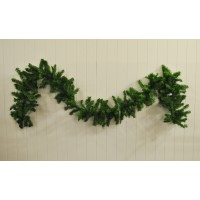 Artificial Pine Mantlepiece Christmas Garland (2.7m) by Premier