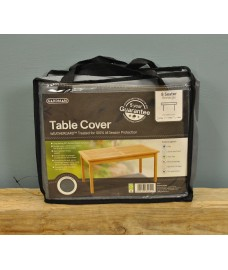 8 Seater Rectangular Table Cover (Premium) in Grey by Gardman
