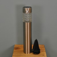 Solar Powered Motion Sensor Bollard Light by Gardman