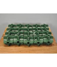 Bamboo Cane Flexible Fruit Cage Connectors (Pack of 20)
