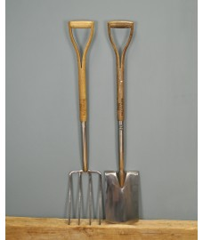 Moulton Mill Stainless Steel Digging Spade & Fork Set by Gardman