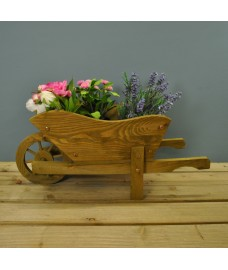 Woodland Wheelbarrow Garden Planter by Smart Garden