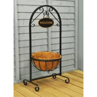 Metal Saxon Welcome Sign & Planter by Smart Garden