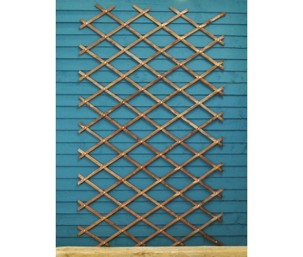 Heavy Duty Expanding Wooden Trellis (180cm x 90cm) by Smart Garden