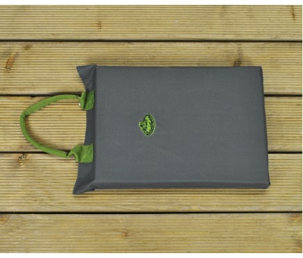 Garden Kneeler Mat in Grey by Fallen Fruits