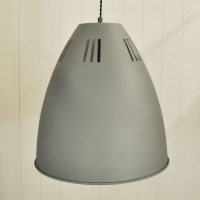 Large Cavendish Pendant Light in Charcoal by Garden Trading