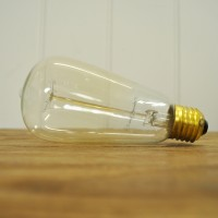 60 watt Squirrel Cage Light Bulb with Screw Fitting by Garden Trading