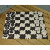 Garden Draughts & Chess Set by Premier