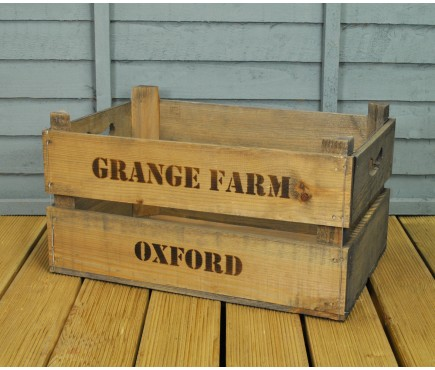 Wooden Fruit & Vegetable Storage Crate by Garden Trading
