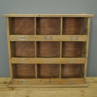 Wooden Chedworth Wall Unit by Garden Trading