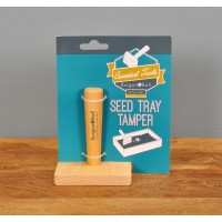 Wooden Seed Tray Tamper (Square) by Burgon & Ball