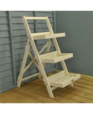 Wooden Stepped Pla..