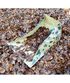 Leaf Collection Wedge Bag by Fallen Fruits