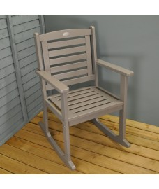Rocking Carver Garden Chair in Grey by Fallen Fruits