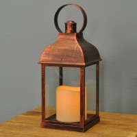 Crusade Battery Operated Candle Lantern by Smart Solar