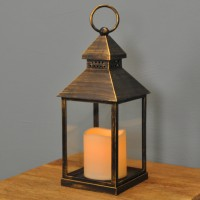 Kentish Battery Operated Candle Lantern by Smart Solar