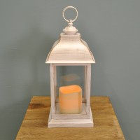 Dorset Battery Operated Candle Lantern By Smart Solar
