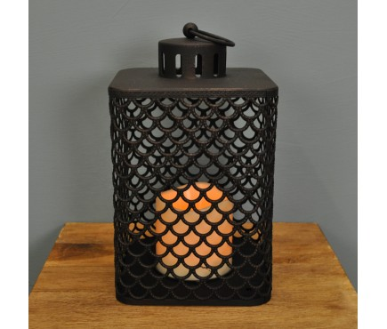 Cairene Battery Operated Candle Lantern By Smart Solar