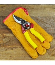 Premium Gardening Secateurs & Gloves Set by Kingfisher