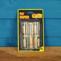 Set of 6 Fly Paper Strips By Kingfisher
