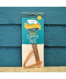 Copper Plant Tags & Ties (Pack of 10) by Burgon & Ball